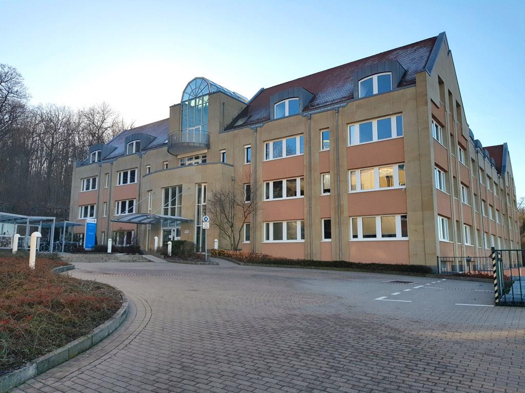 Dienstgebäude des Thüringer Landesamtes für Finanzen